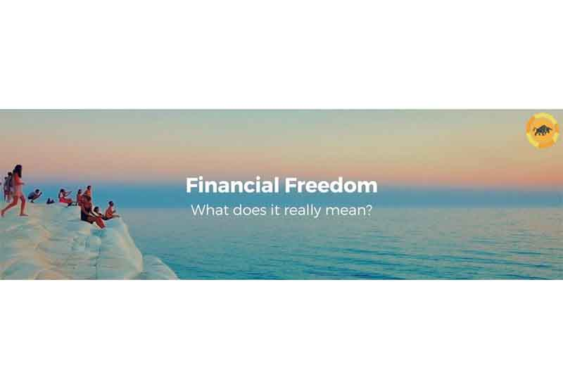 What does financial freedom actually mean?