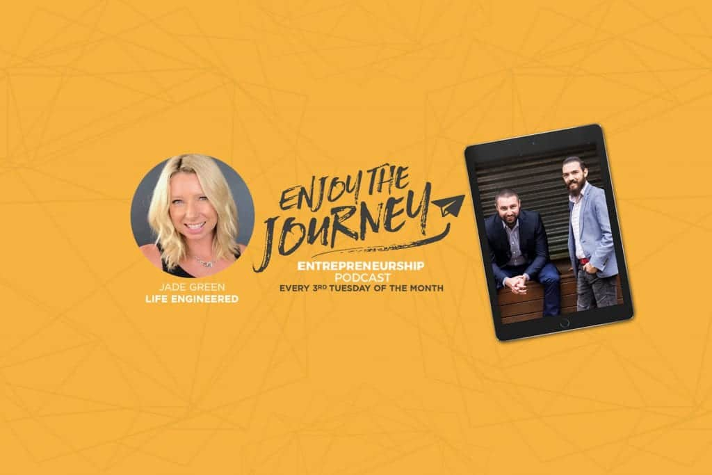 #EnjoyTheJourney Podcast Ep 24 – Jade Green talks about ATTRACT | RETAIN | MAXIMISE