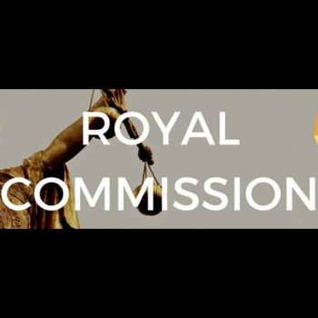 Opinion on the banking royal commission
