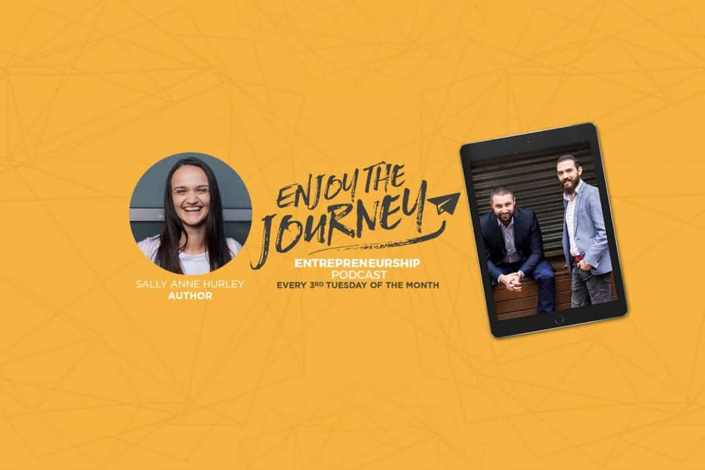 """#EnjoyTheJourney Podcast Ep 27 – An Interview with Sally Anne Hurley – Author of the book """"How To Love Sht Out of Life"""""""