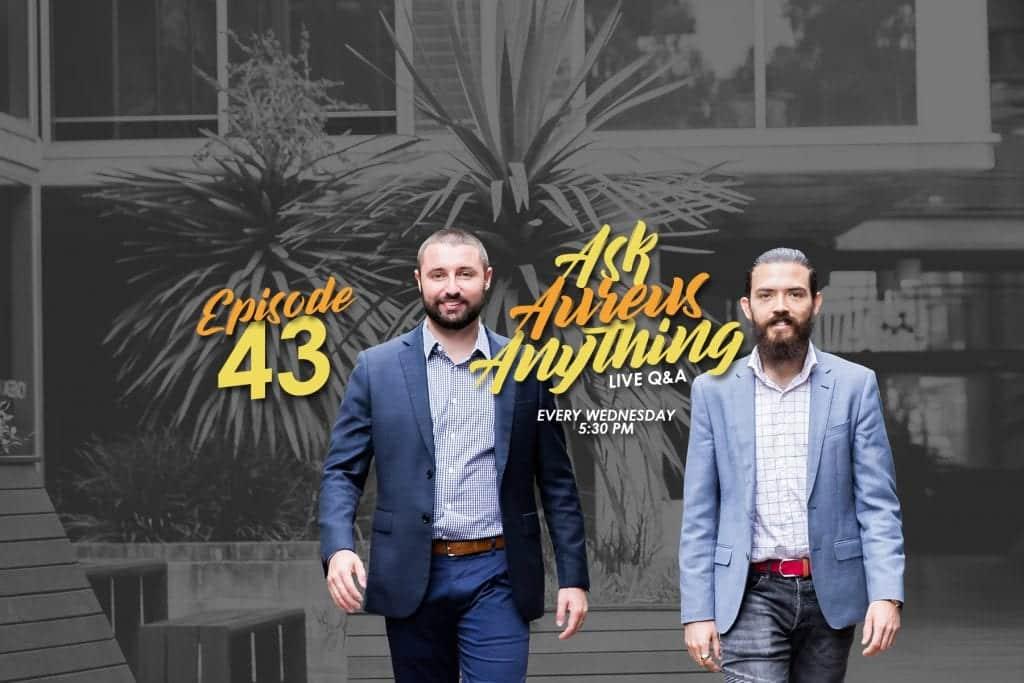Ask Aureus Anything Live Q&A – Episode 43 Copy