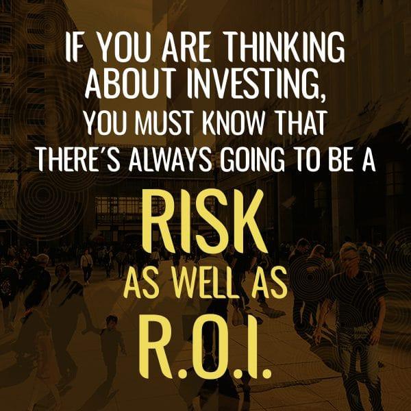 Risk vs return of investments