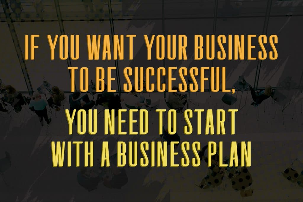 business plan that works