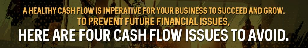 avoid business cash flow issues